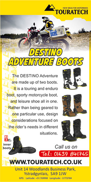 Touratech UK – August Advert One