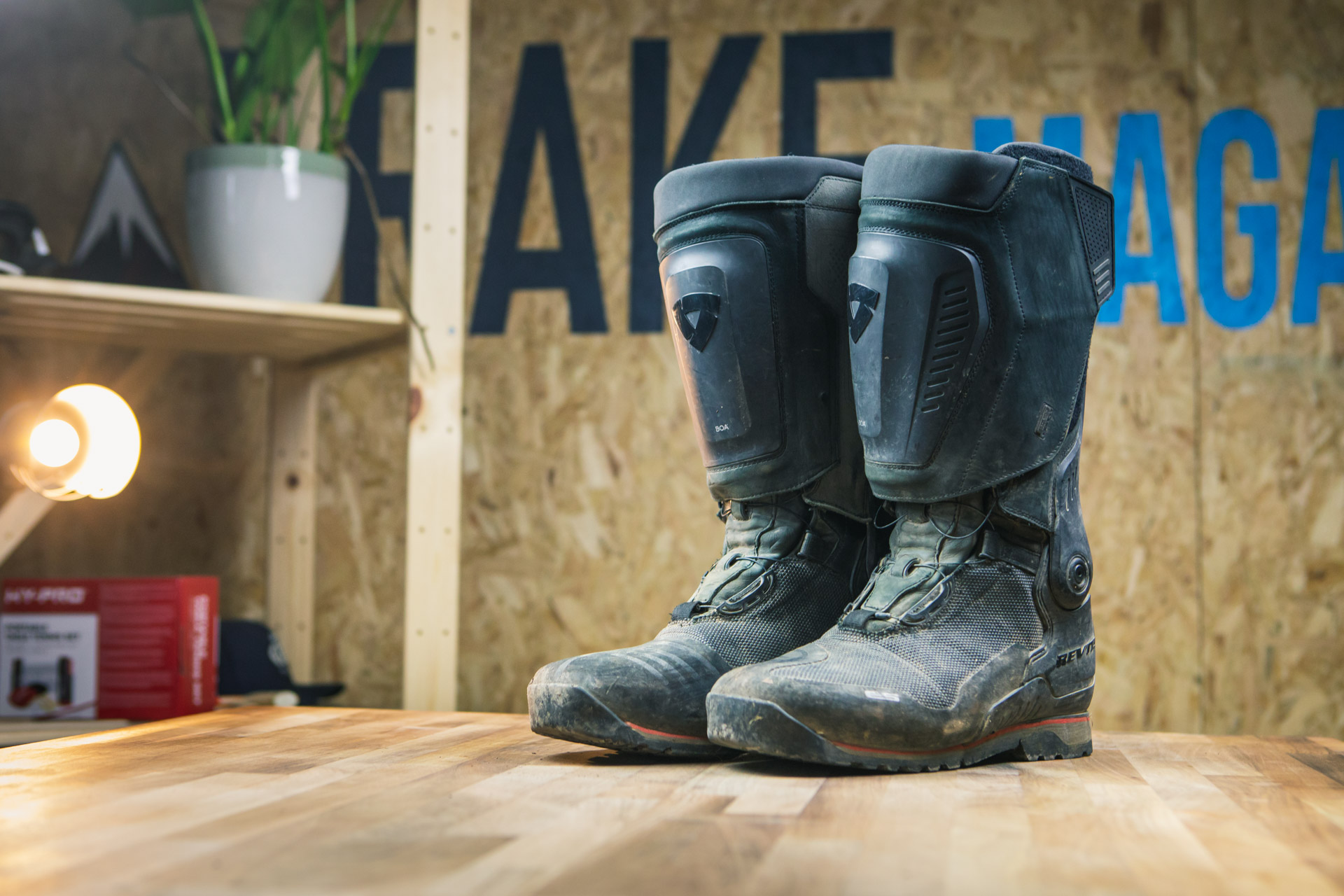 Review - REV'IT! Expedition H2O Boots